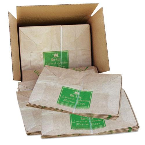 """Lawn and Leaf Bags, 30 gal, 16"""" x 35"""", Kraft, 50 Bags. Picture 2"""