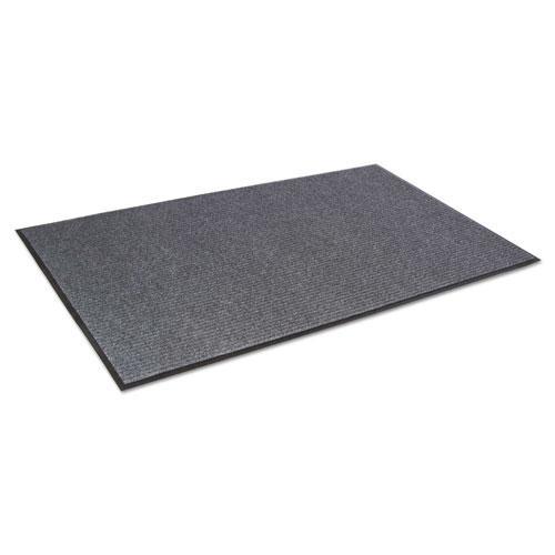 Needle Rib Wipe and Scrape Mat, Polypropylene, 36 x 60, Gray. Picture 2