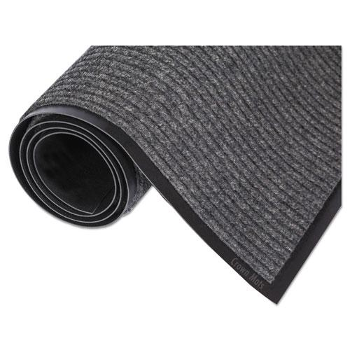 Needle Rib Wipe and Scrape Mat, Polypropylene, 48 x 72, Gray. Picture 3
