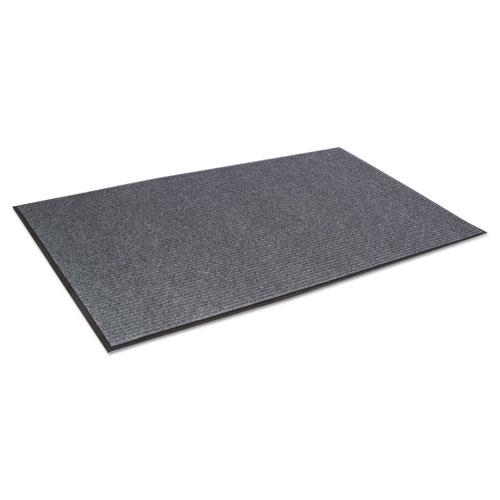 Needle Rib Wipe and Scrape Mat, Polypropylene, 48 x 72, Gray. Picture 2