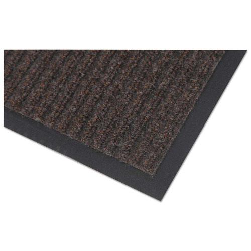 Needle Rib Wipe and Scrape Mat, Polypropylene, 48 x 72, Brown. Picture 2