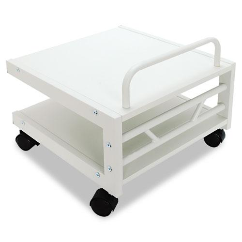 Low Profile Mobile Printer Stand, 17w x 17d x 14h, Gray. Picture 2