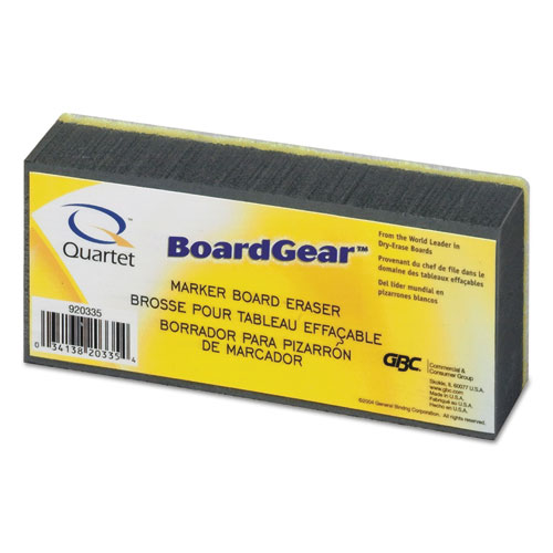 "BoardGear Marker Board Eraser, 5"" x 2.75"" x 1.38"". Picture 1"