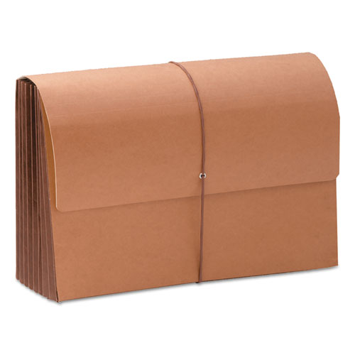"""TUFF Expanding Wallets, 7"""" Expansion, 1 Section, Legal Size, Redrope"""