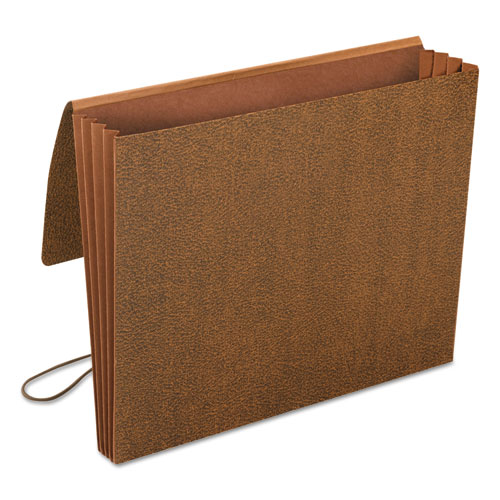 """Classic Expanding Wallets, 3.5"""" Expansion, 1 Section, Letter Size, Redrope. Picture 3"""