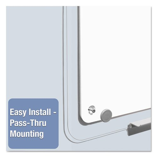 iQ Total Erase Board, 49 x 32, White, Clear Frame. Picture 6