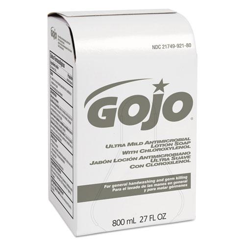Ultra Mild Lotion Soap w/Chloroxylenol Refill, Floral Balsam, 800mL, 12/Carton. Picture 1