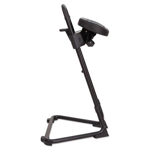 Alera Ss Series Sit Stand Adjustable Stool Black
