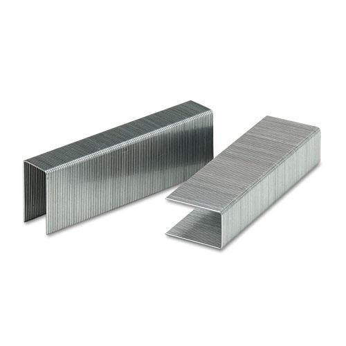 "Heavy-Duty Premium Staples, 0.88"" Leg, 0.5"" Crown, Steel, 1,000/Box. Picture 2"