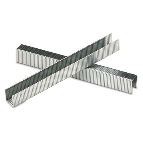 """SharpShooter Heavy-Duty Tacker Staples, 0.5"""" Leg, 0.5"""" Crown, Steel, 1,000/Box. Picture 2"""