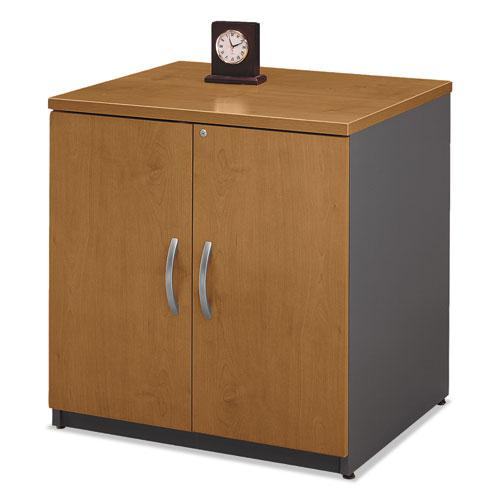 Series C Collection 30W Storage Cabinet, Natural Cherry. Picture 2