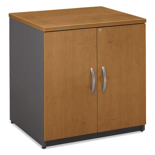 Series C Collection 30W Storage Cabinet, Natural Cherry. Picture 4