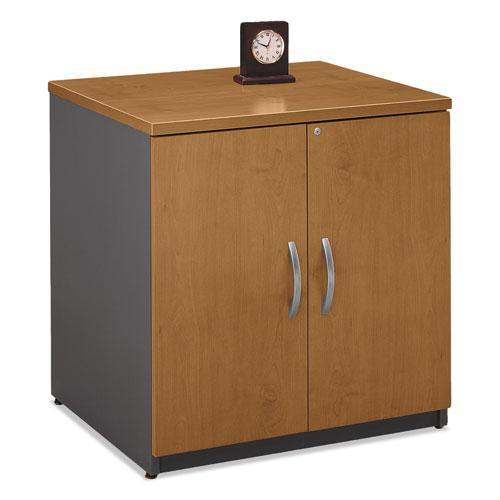 Series C Collection 30W Storage Cabinet, Natural Cherry. Picture 1