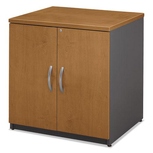 Series C Collection 30W Storage Cabinet, Natural Cherry. Picture 3