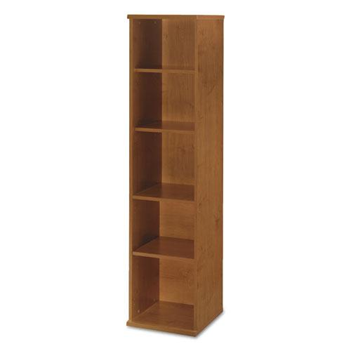 Series C Collection 18W 5 Shelf Bookcase, Natural Cherry. Picture 2