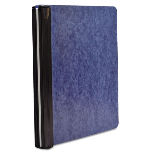 """Expandable Hanging Data Binder, 2 Posts, 6"""" Capacity, 11 x 8.5, Blue. Picture 1"""