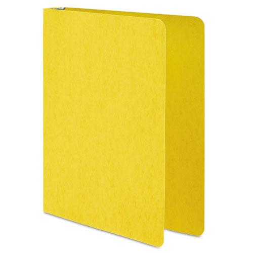 "PRESSTEX Round Ring Binder, 3 Rings, 1"" Capacity, 11 x 8.5, Yellow. Picture 1"
