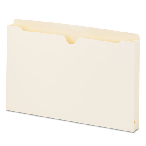 Economical Manila File Jackets, Straight Tab, Legal Size, Manila, 50/Box. Picture 1