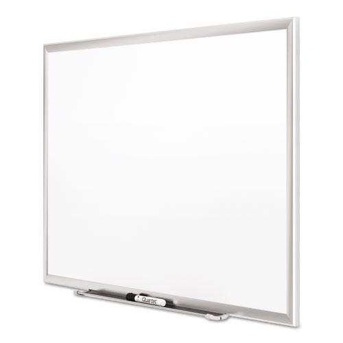 Classic Series Porcelain Magnetic Board, 60 x 36, White, Silver Aluminum Frame. Picture 8