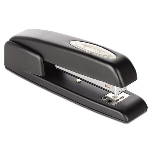 747 Business Full Strip Desk Stapler, 25-Sheet Capacity, Black. Picture 4