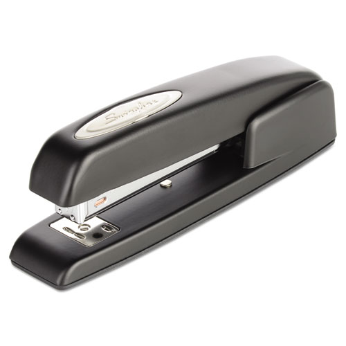 747 Business Full Strip Desk Stapler, 25-Sheet Capacity, Black. Picture 1