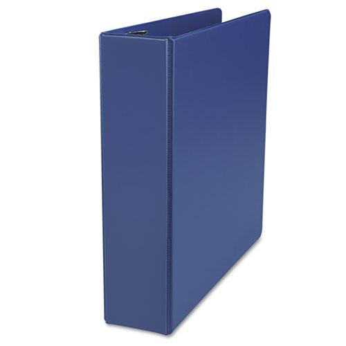 """Deluxe Non-View D-Ring Binder with Label Holder, 3 Rings, 2"""" Capacity, 11 x 8.5, Royal Blue. Picture 4"""