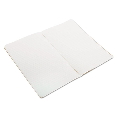 Cahier Journal, Narrow Rule, Kraft Brown Cover, 8.25 x 5, 80 Sheets, 3/Pack. Picture 1