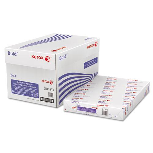 Bold Digital Printing Paper, 98 Bright, 24lb, 11 x 17, White, 500/Ream. Picture 1