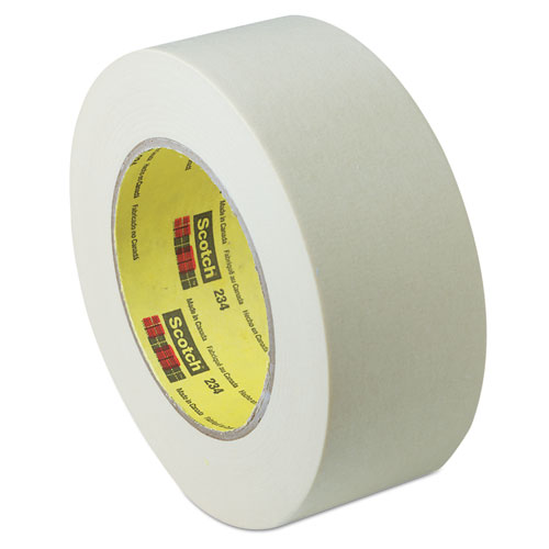 "General Purpose Masking Tape 234, 3"" Core, 48 mm x 55 m, Tan. Picture 1"