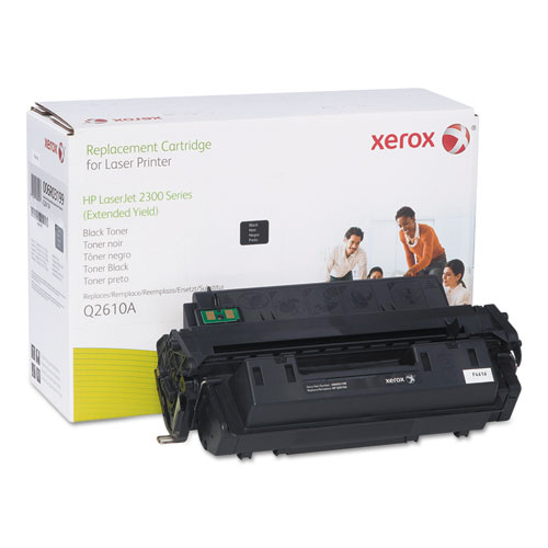 006R03199 Replacement Extended-Yield Toner for Q2610A (10A), Black. Picture 1