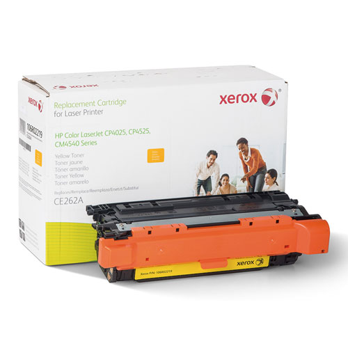 106R02219 Replacement Toner for CE262A (648A), Yellow. Picture 1