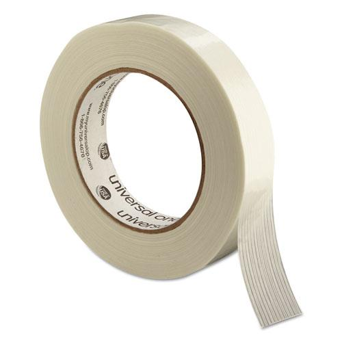 """190# Medium Grade Filament Tape, 3"""" Core, 24 mm x 54.8 m, Clear. Picture 3"""