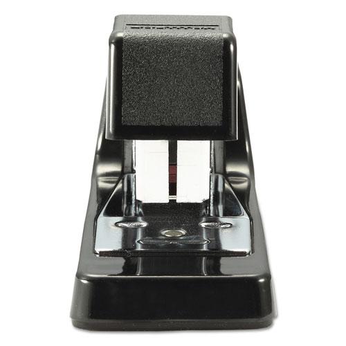 B400 Executive Half Strip Stapler, 20-Sheet Capacity, Black. Picture 2