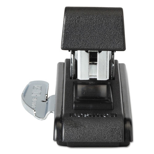 B8 PowerCrown Flat Clinch Premium Stapler, 40-Sheet Capacity, Black. Picture 4