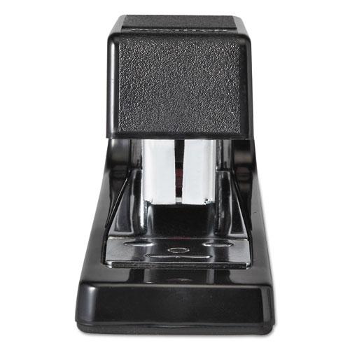 B400 Executive Half Strip Stapler, 20-Sheet Capacity, Black. Picture 3