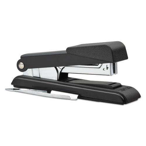 B8 PowerCrown Flat Clinch Premium Stapler, 40-Sheet Capacity, Black. Picture 5