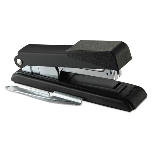 B8 PowerCrown Flat Clinch Premium Stapler, 40-Sheet Capacity, Black. Picture 1