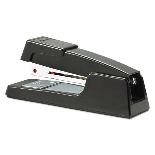B400 Executive Half Strip Stapler, 20-Sheet Capacity, Black. Picture 4