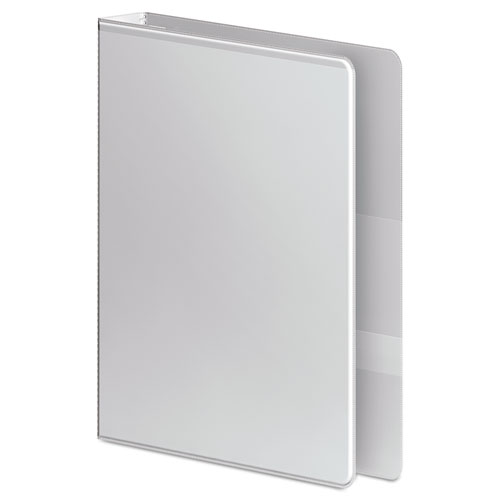 """Ultra Duty D-Ring View Binder with Extra-Durable Hinge, 3 Rings, 1"""" Capacity, 11 x 8.5, White. Picture 3"""