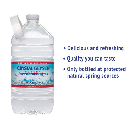 Alpine Spring Water, 1 Gal Bottle, 6/Case, 48 Cases/Pallet. Picture 4