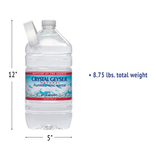 Alpine Spring Water, 1 Gal Bottle, 6/Case, 48 Cases/Pallet. Picture 5