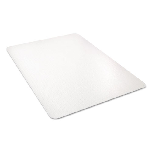 All Day Use Chair Mat - All Carpet Types, 45 x 53, Rectangle, Clear. Picture 4
