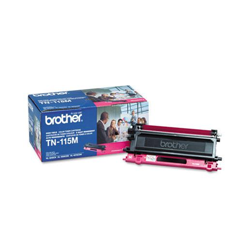 TN115M High-Yield Toner, 4,000 Page-Yield, Magenta. Picture 2