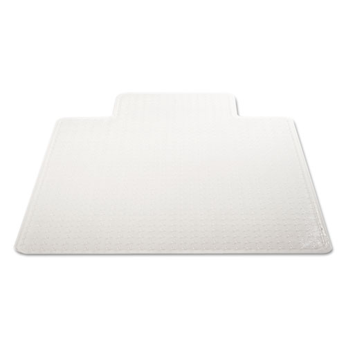 DuraMat Moderate Use Chair Mat for Low Pile Carpet, 46 x 60, Wide Lipped, Clear. Picture 9
