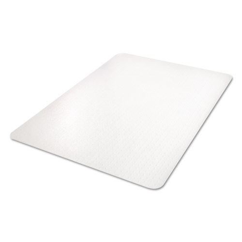 All Day Use Chair Mat - All Carpet Types, 45 x 53, Rectangle, Clear. Picture 7