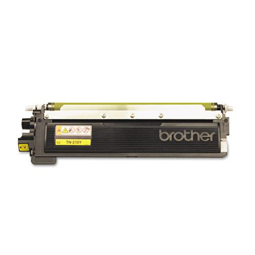 TN210Y Toner, 1,400 Page-Yield, Yellow. Picture 2