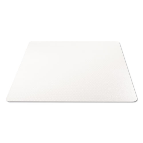 All Day Use Chair Mat - All Carpet Types, 45 x 53, Rectangle, Clear. Picture 1