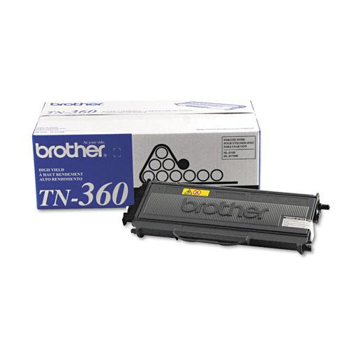 TN360 High-Yield Toner, 2,600 Page-Yield, Black. Picture 2