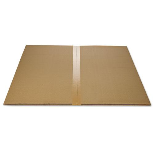 EconoMat All Day Use Chair Mat for Hard Floors, 45 x 53, Wide Lipped, Clear. Picture 6