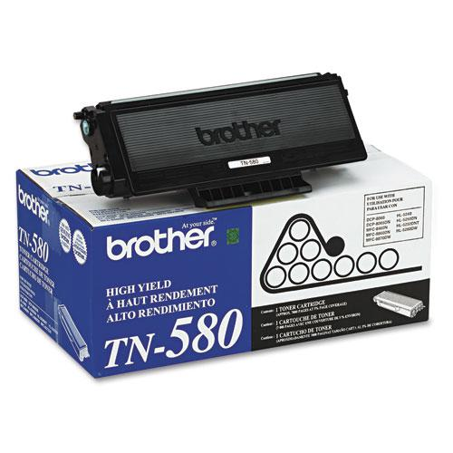 TN580 High-Yield Toner, 7000 Page-Yield, Black. Picture 2